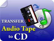 Transfer Audio Tape to CD. Was:£19.99 Now:£12.99